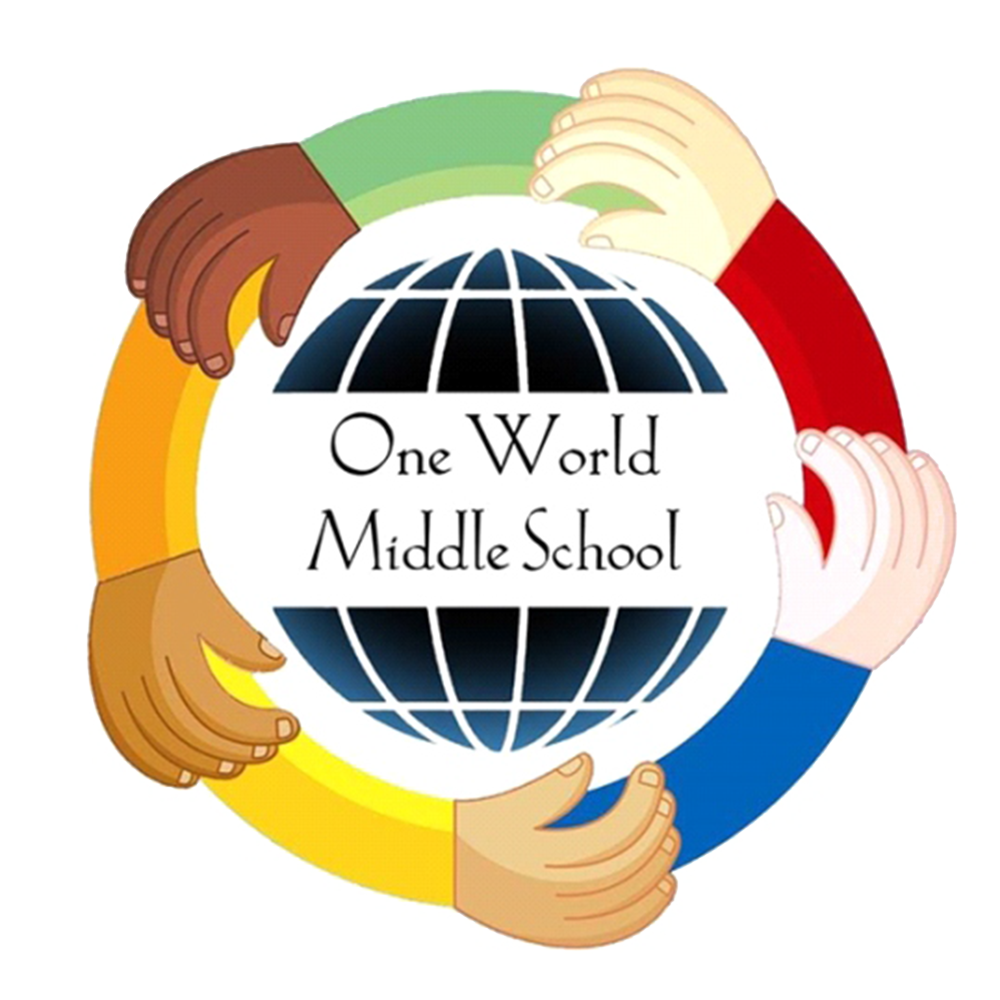 One World Middle School Logo
